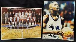1992-93 ORLANDO MAGIC Basketball TEAM Photo SHAQUILLE O'NEAL