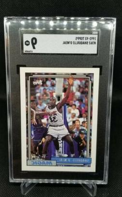 1992-93 Topps #362 Shaquille O'Neal RC Rookie HOF SGC 9 MINT