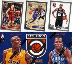 2015-16 Panini Complete Silver Parallel Set Singles NBA Bask