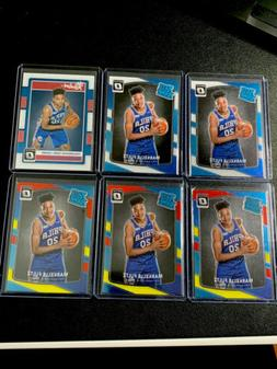 2017 Optic Markelle Fultz Rated Rookie BASE + Red Yellow LOT