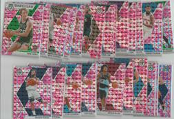 2019-20 Panini Mosaic Pink Camo Parallel Pick Your Card Comp