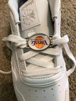 2pcs NBA Team Logo Paracord Shoelace Charms