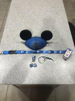 AUTHENTIC Walt Disney Orlando Magic Mickey Ears Hat NBA Bask