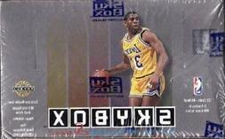 BASKETBALL BOX 1992-93 NBA SKYBOX Ser. 2 Factory Sealed 36 P