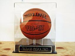 Basketball Display Case For Your Orlando Magic Team Autograp