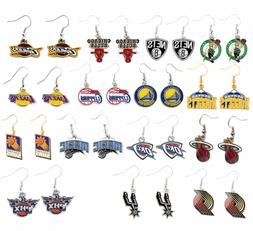 earring dangle charm NBA PICK YOUR TEAM