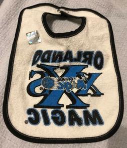 Holo Seal Vintage NBA Orlando Magic Baby Bib Infant Toddlers