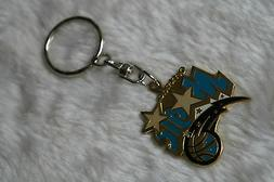 kiTki Orlando Magic metal badge basketball keychain key chai
