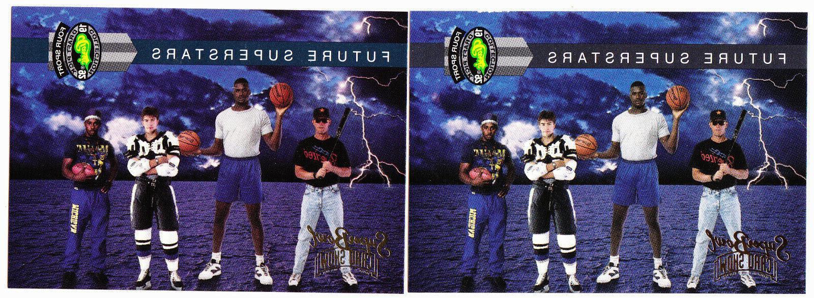 1992 classic four sport draft pick super