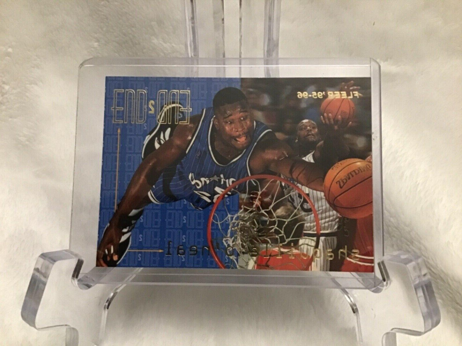 1995 96 fleer end to end shaquille