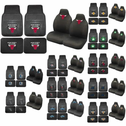 nba basketball licensed high back seat covers