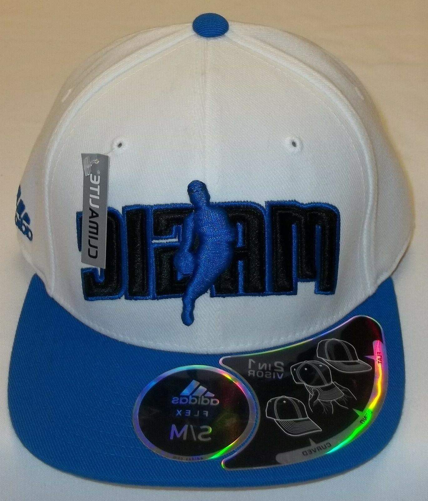 nba orlando magic 2in1 visor flex hat