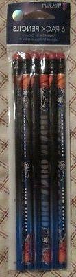 nba orlando magic 6 pack wooden pencils