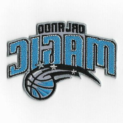 nba orlando magic iron on patches embroidered