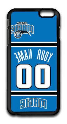 NBA Orlando Magic Personalized Name/Number iPhone iPod Case