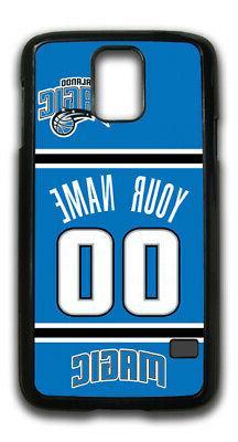 NBA Orlando Magic Personalized Name/Number Samsung Phone Cas