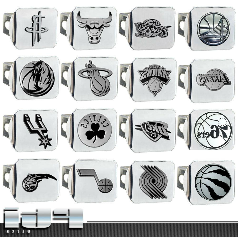 nba teams basketball chrome metal 3d logo