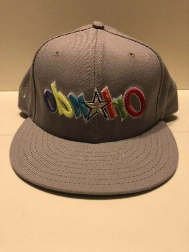 new orlando magic fitted hat sz 7