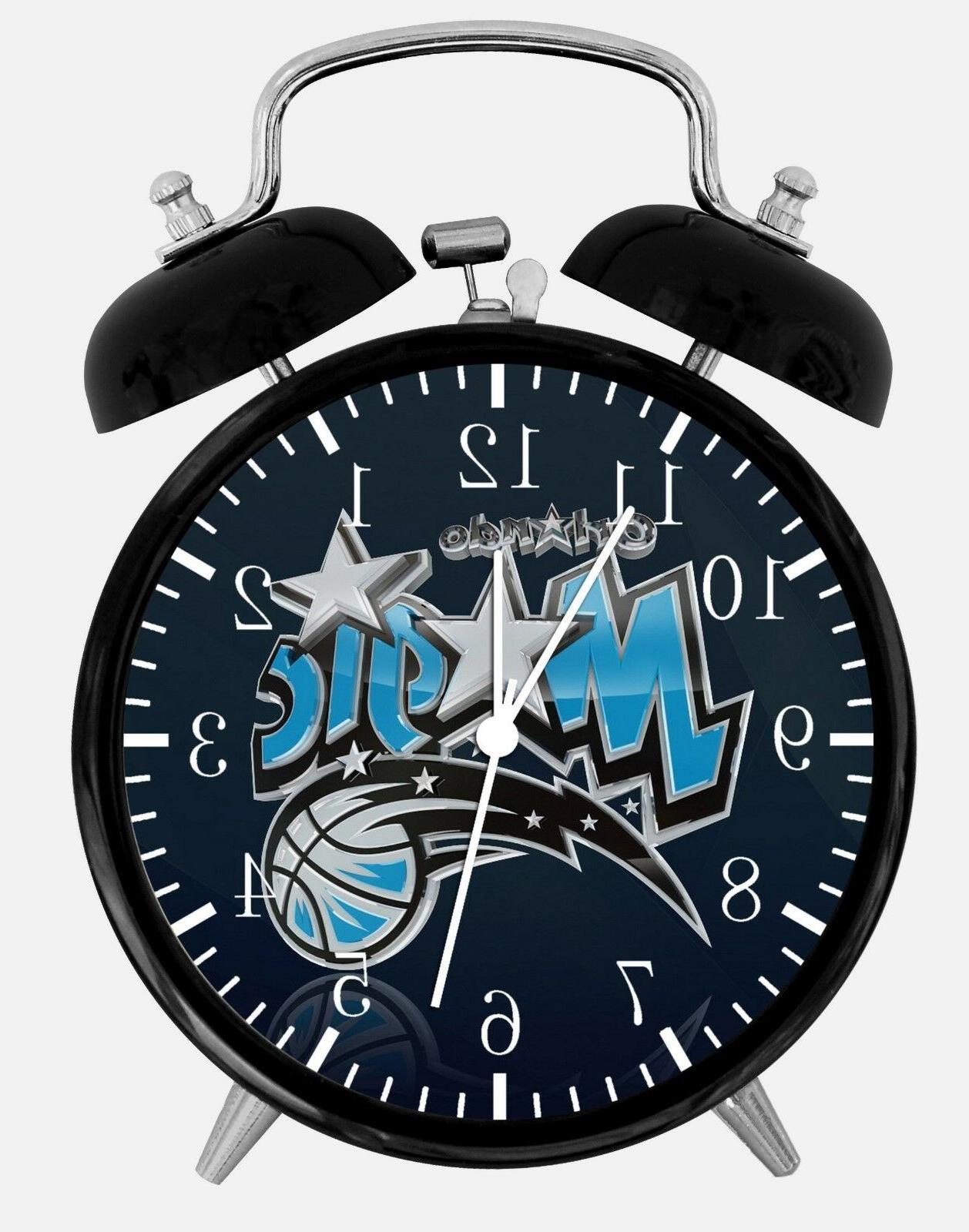 orlando magic alarm desk clock 3 75