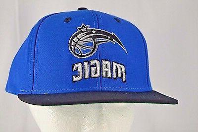 orlando magic blue black baseball cap snapback