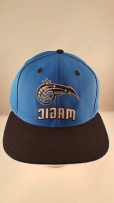 orlando magic blue black style flat visor