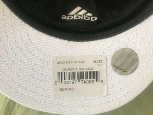 Adidas Visor Flex Authentic NBA Hat Blue/BLK S/M 7/8-7 1/4