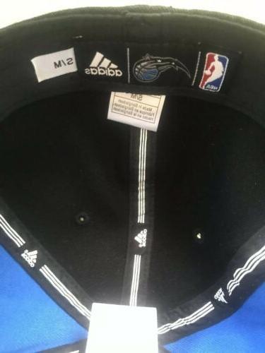 Adidas Orlando Flat Visor Hat Blue/BLK 7/8-7