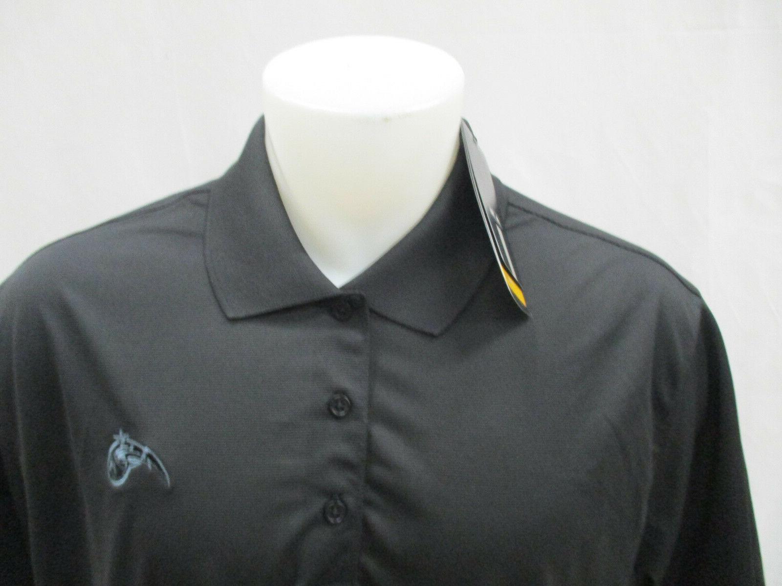 Orlando Magic Sleeve Climalite Polo Shirt NBA Black adidas