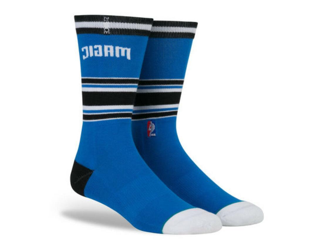 orlando magic mens casual crew socks new