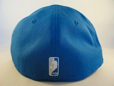 Fitted Hat Size 7 5/8 Blue