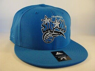 Orlando Magic Adidas Fitted 7 Blue