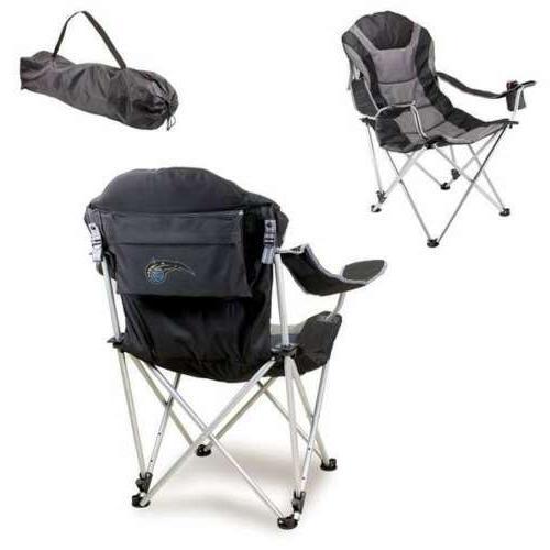 reclining camp chair black orlando magic digital