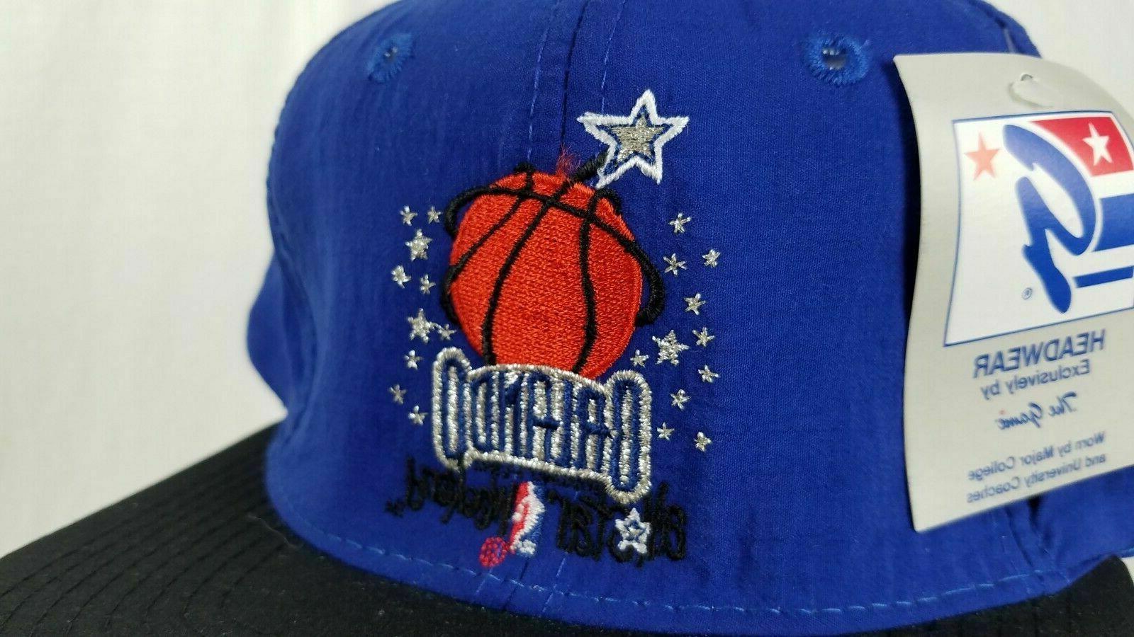Vintage 1992 Orlando NBA Snap Hat Cap