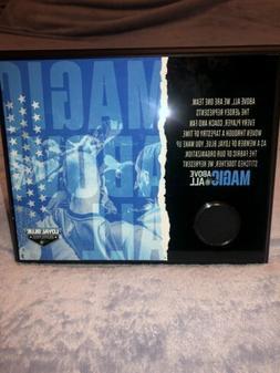 Limited Edition Orlando Magic Above All Team Plaque