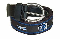 Mark Adult Canvas NBA Orlando Magic Belt w/Buckle Closure