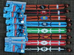 NBA Genuine Leather Fan Bracelet Wristband  GameWear