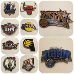 NBA LICENSED BELT BUCKLES - OFFICIAL NBA PRODUCT - CHOOSE YO