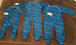 NBA Orlando Magic Baby Zip Up Coverall Footed Sleepwear Paja