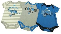 NBA Orlando Magic Genuine Adidas Infant 3 Piece Creeper Slee