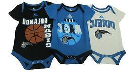 NBA Orlando Magic Genuine Adidas Infant 3 Piece Creeper Slee