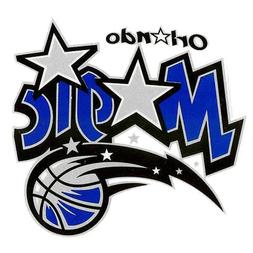 NBA Orlando Magic New Logo Small Static Decal, One Size
