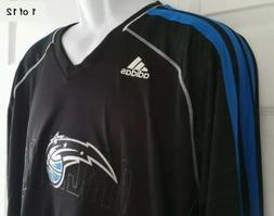 Adidas NBA Orlando Magic Long Sleeve Clima Cool Shirt, Size
