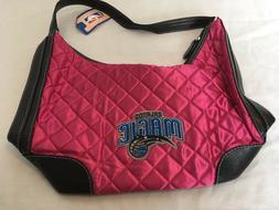 NBA Orlando Magic Pink Quilted Style Women's Purse Handbag