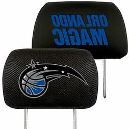 FANMATS NBA Orlando Magic Polyester Head Rest Cover