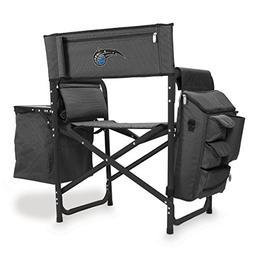 NBA Orlando Magic Portable Folding Fusion Chair, Grey/Black