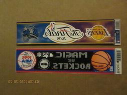 NBA Orlando Magic Vintage 1995 & 2009 The Finals Team Logos