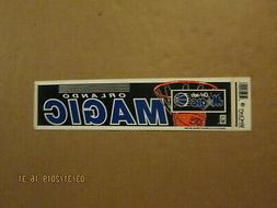 NBA Orlando Magic Vintage Circa 1990's Team Logo Basketball