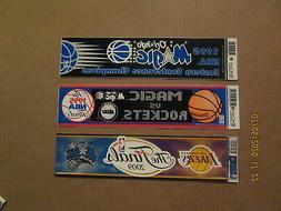 NBA Orlando Magic Vintage Lot of 2 1995 & Circa 2009 Team Lo