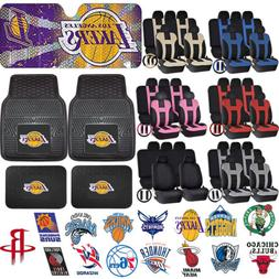 NBA Universal Black Rubber Mats Sun Shade & UAA Seat Covers