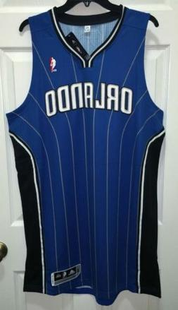 NEW Mens ADIDAS Orlando Magic Blue Swingman Twill Basketball